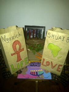 Kwanzaa treat bags