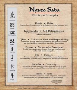 nguzo saba poster